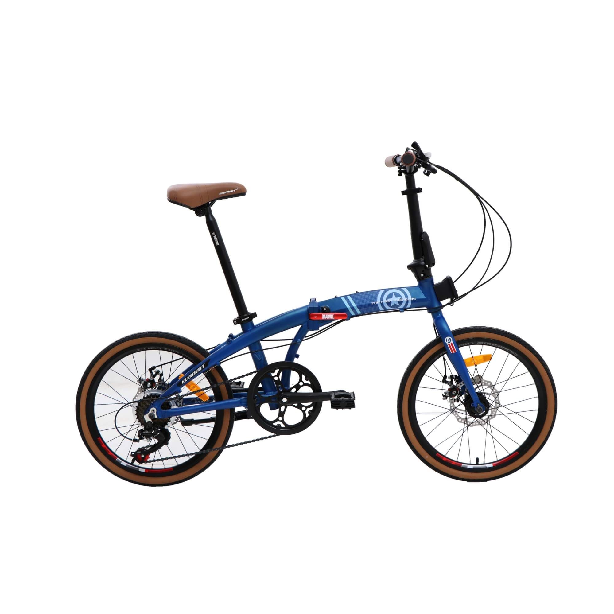Element Folding Bike Ecosmo Captain America Edition