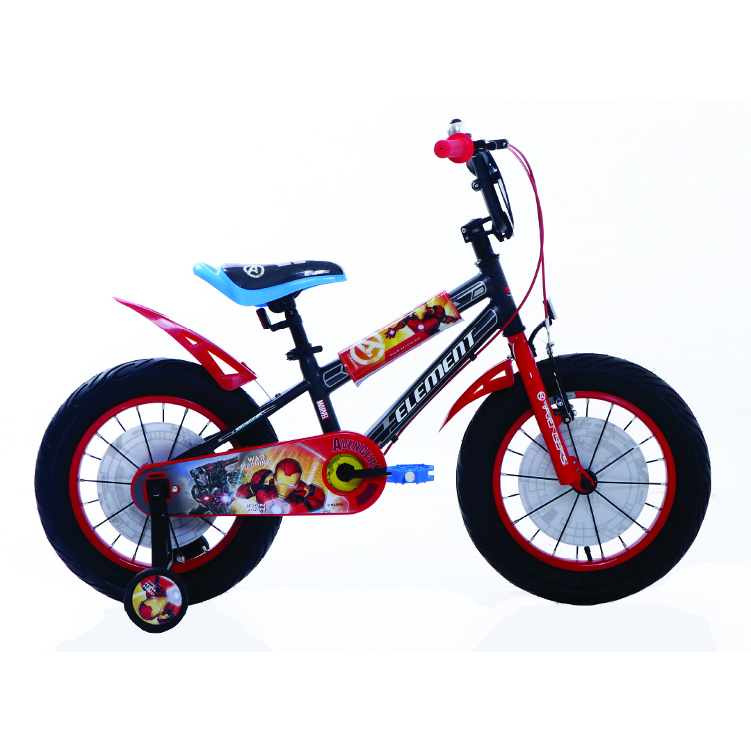 Element Sepeda Anak BMX Marvel Series War Machine